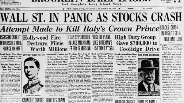 Why The 1929 Stock Market Crash Could Happen Again: The CAPE Ratio