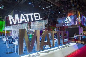 Image of Mattel display