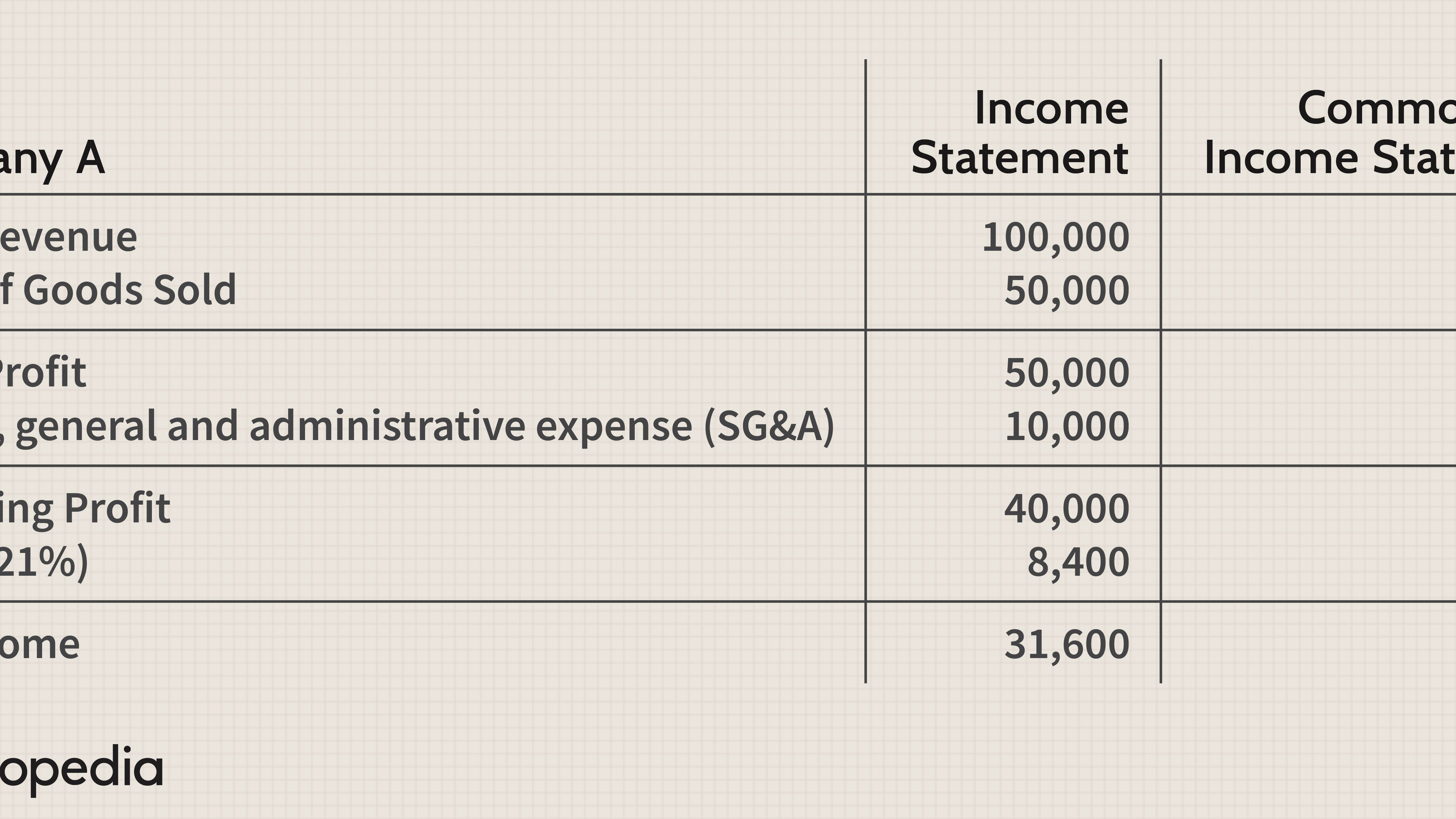 Common Size Income Statement Definition