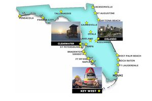 Map of Florida Cities