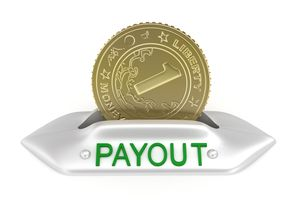 Payout concept icon