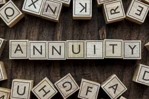 Scrabble letters spelling out