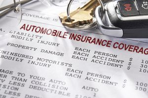 Auto and Car Insurance policy with keys