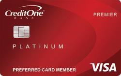 Credit One Platinum Rewards Visa