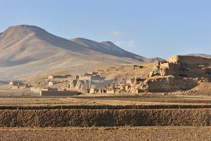 Afghanistan village, Bamyan