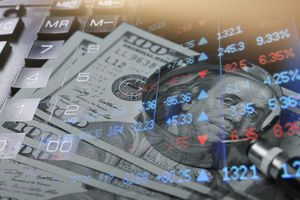 Finance and securities, concept image