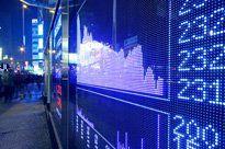 Stock Graph on Digital Screen