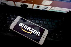 Amazon shopping logo
