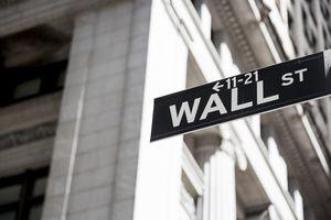 Wall street sign. USA, New York, Manhattan.