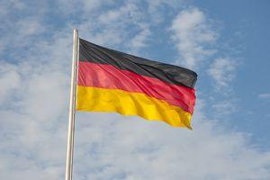 German Flag, German Reichstag, Mitte, Berlin, Germany