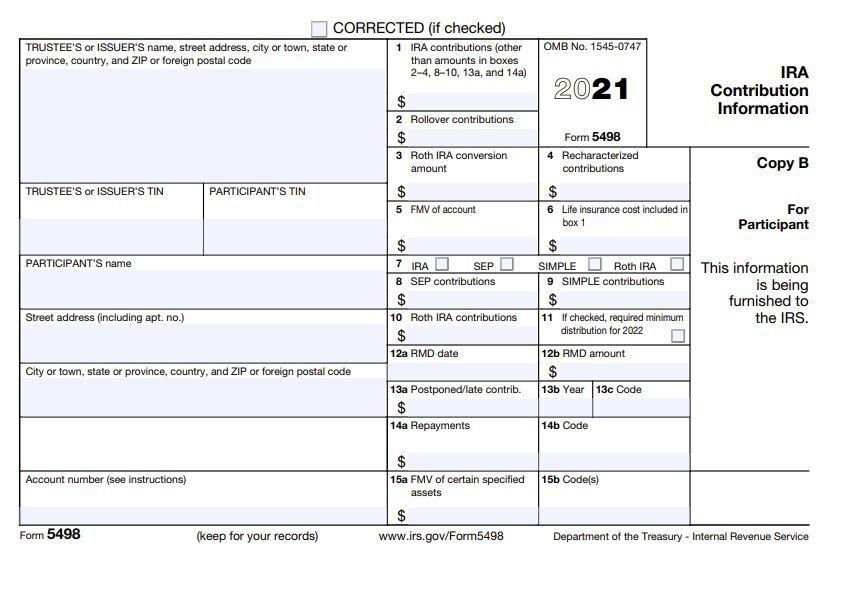 Form 5498