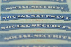 American social security cards.