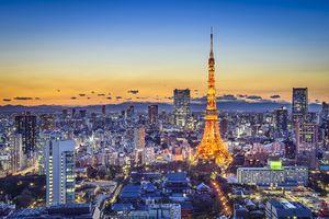 Tokyo Skyline -- Tokyo, Japan, March 21, 2014
