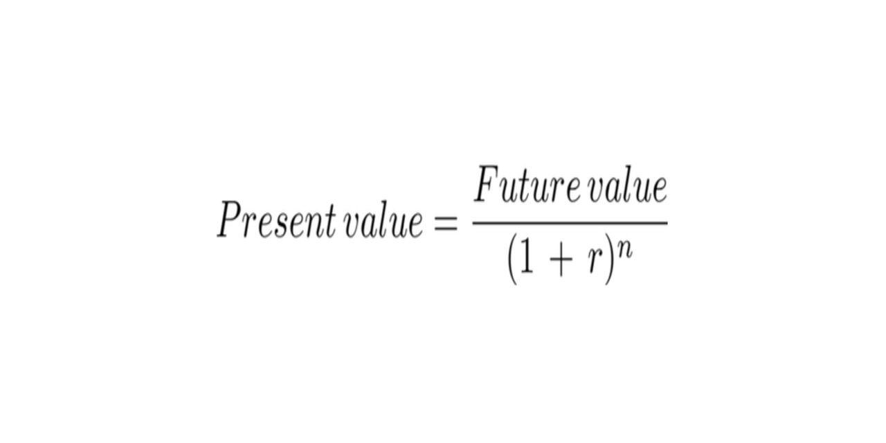 present value  u2013 pv definition