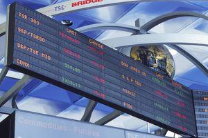 Toronto Stock Exchange Board.