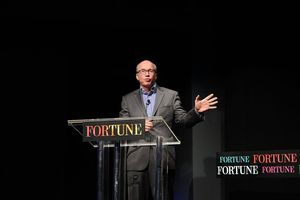 Editor of Fortune Magazine Alan Murray attend the Cocktails To Celebrate The Fortune 100 Best Companies To Work For on March 8, 2016 in New York City.