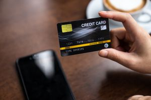 Credit card concept,Credit card payment