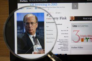 Image of BlackRock CEO Larry Fink