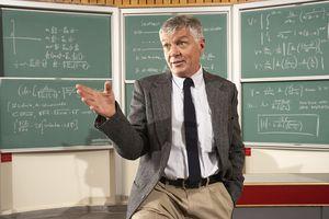 Teacher explaining a TIAA-CREF annuity.