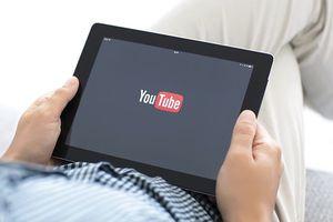 Watching YouTube on screen