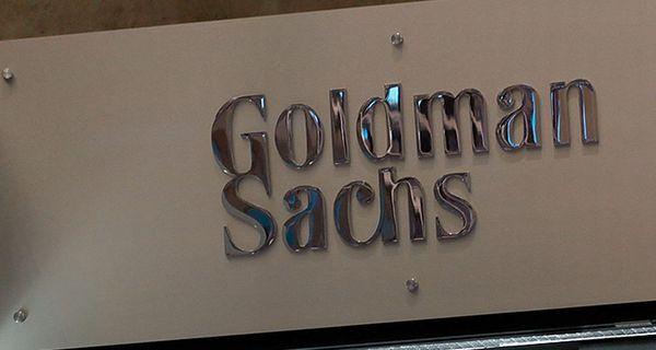 Image of Goldman Sachs sign