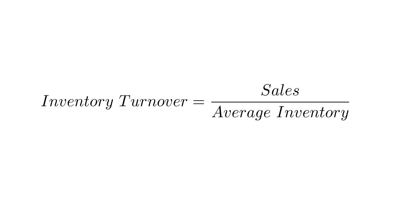 inventory turnover definition