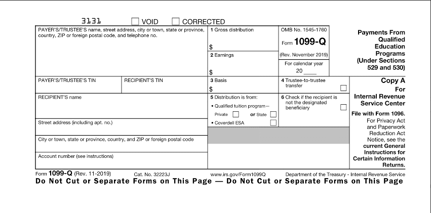 Form 1099-Q