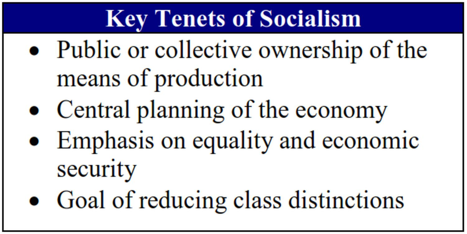 what exactly is a socialist economy?