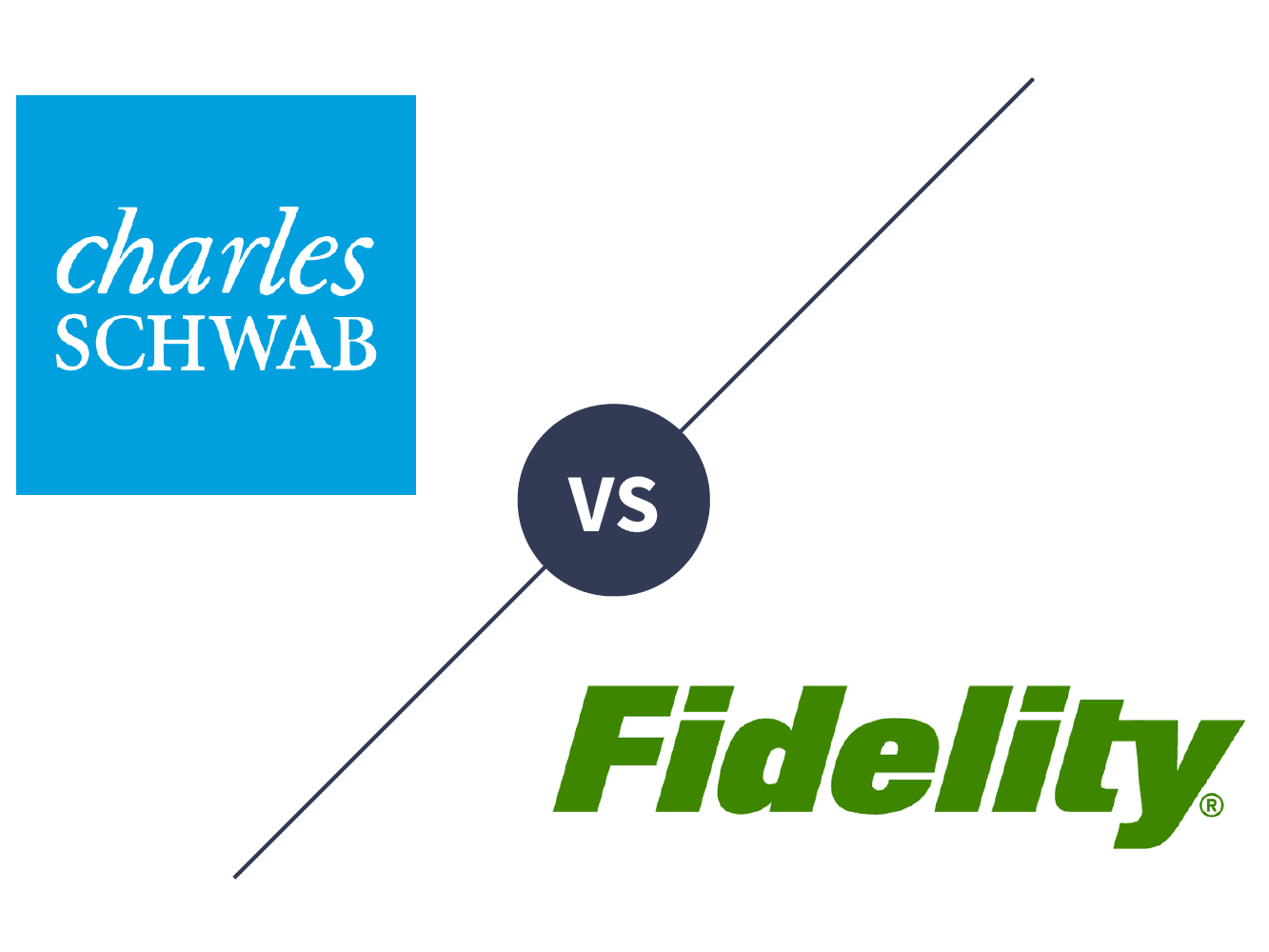 Charles Schwab vs  Fidelity Investments 2019
