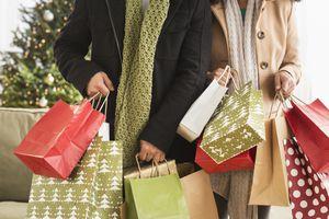 holiday shopping wasting money