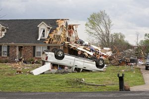 Hurricane property damage to a home and car