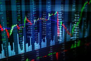 Image of technical analysis stock chart