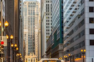Chicago Board of Trade Building on LaSalle St