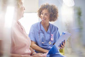 hospital patient consultation