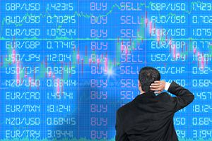 Inexperienced Foreign Exchange Trader Scratching Head