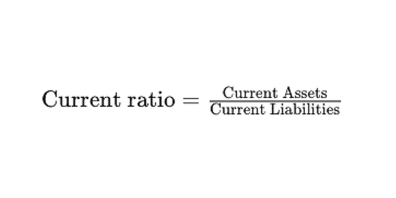 What Is the Formula for Calculating the Current Ratio?