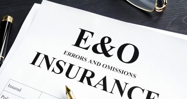 Errors and omissions insurance E&O form.