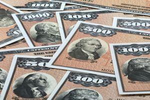 Treasury bonds in various denominations