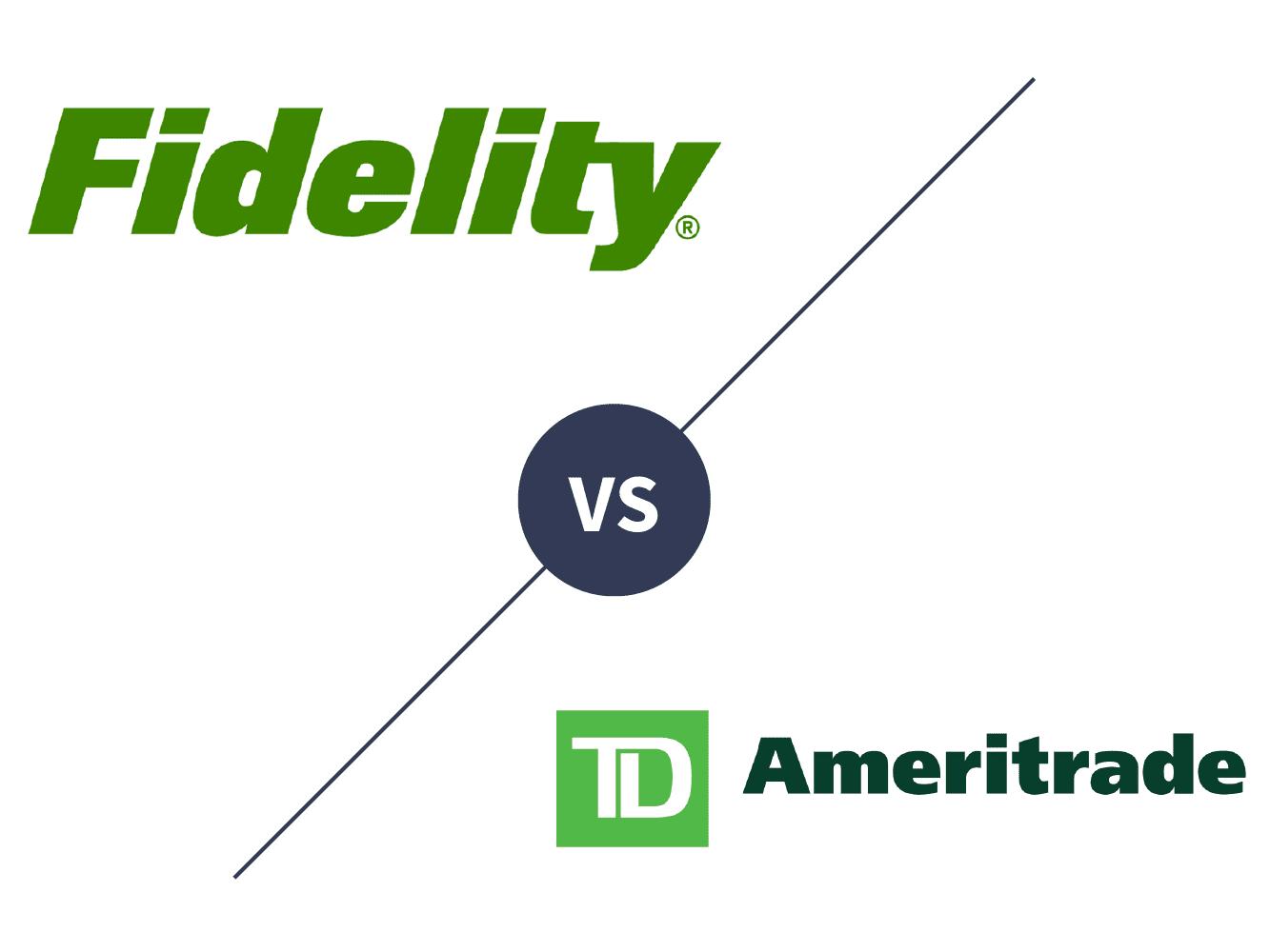Fidelity Investments vs  TD Ameritrade 2019