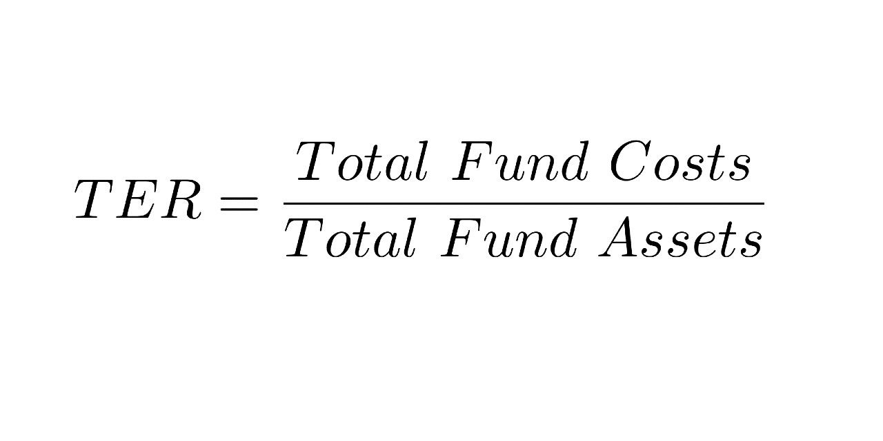 TER = total fund costs/total fund assets
