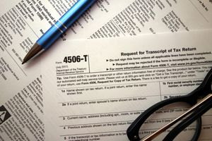 4506-t form for tax time