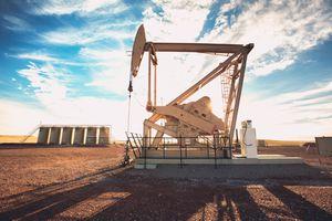 Fracking Oil Well