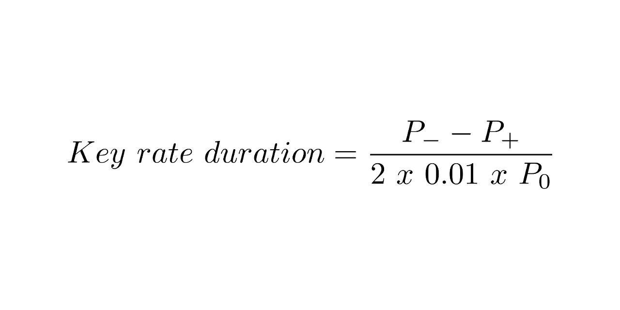 Key Rate Duration formula