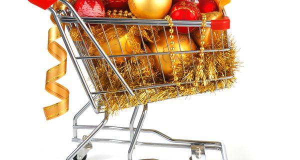 Holiday Shopping Cart