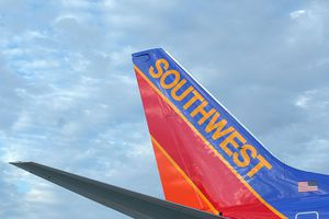 A new Southwest Airlines Boeing 737-700.