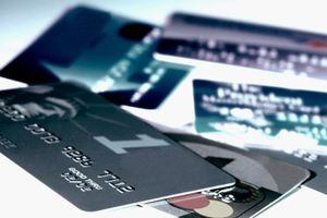 Images of various credit cards.