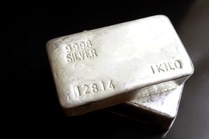a bar of silver