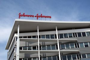 Johnson & Johnson building in Madrid.