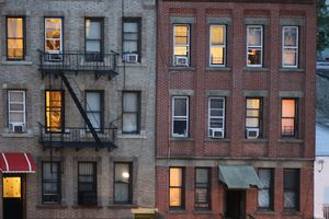 Railroad apartment tenement building NYC