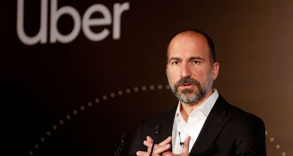 Uber CEO and Logo